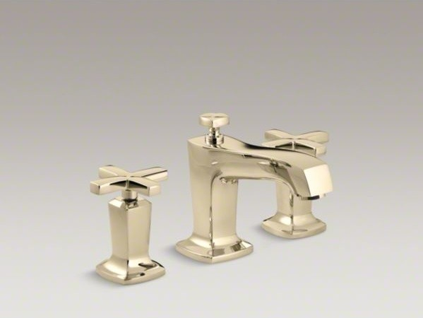 KOHLER Margaux R Widespread Bathroom Sink Faucet With Cross Handles Contem