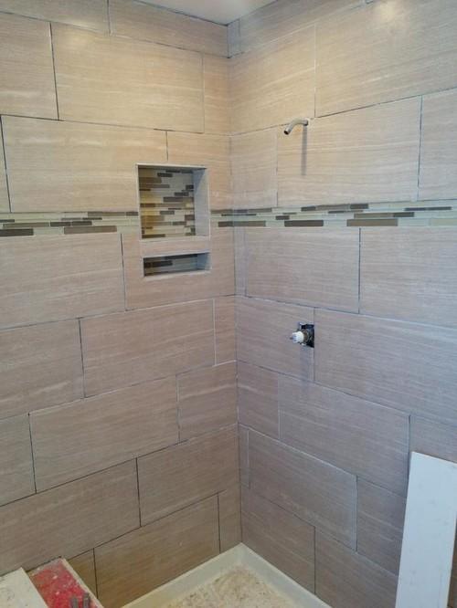 Caulk Shower Corners A Different Color Than Grout Lines