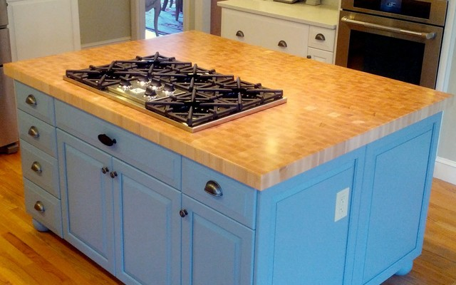 Hard Countertop Materials : Custom Hard Maple Wood Countertop - Kitchen Countertops - Other - by ...