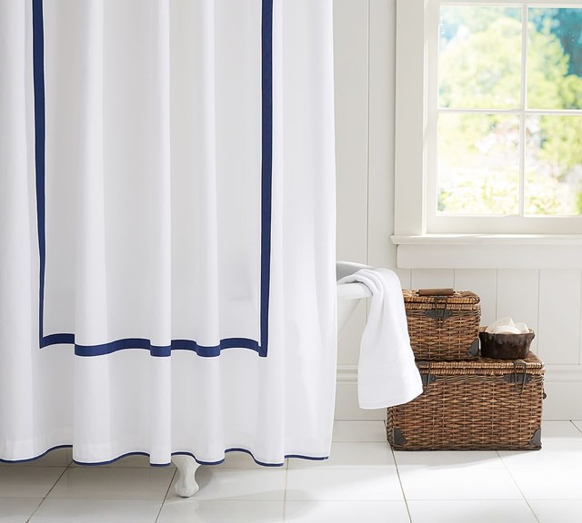Morgan Shower Curtain Contemporary By Pottery Barn