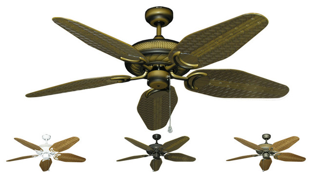 outdoor ceiling fans wet rated contemporary electric. Black Bedroom Furniture Sets. Home Design Ideas