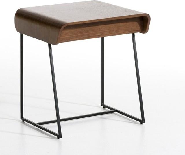 Chevet 1 tiroir bardi design e gallina contemporain table de chevet et - Table de chevet ampm ...