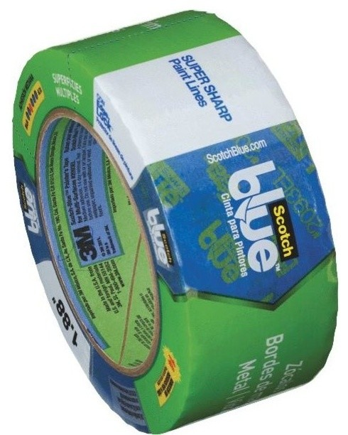 3M Scotch Blue with Edge-Lock Multi-surface Painter's Masking Tape - Contemporary - Painting ...