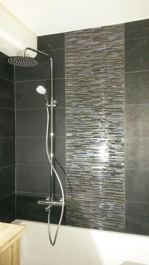 des projets de r novation de salle de bains qui prennent vie. Black Bedroom Furniture Sets. Home Design Ideas