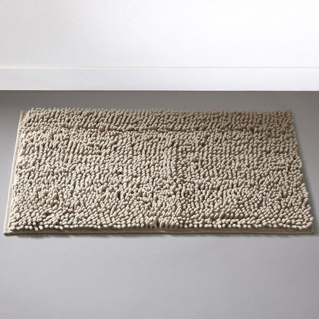 Tapis de bain chenille contemporain tapis de bain - Tapis salle de bain la redoute ...