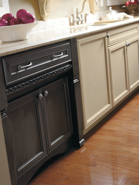 Decora Enkeboll Moulding Art Nouveau Trim - Kitchen Cabinetry - Other - by MasterBrand Cabinets ...