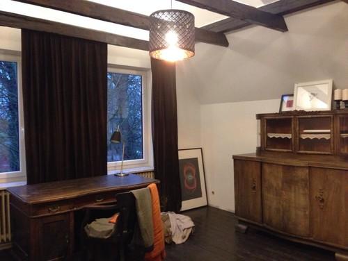 schlafzimmer b ro vorher nachher. Black Bedroom Furniture Sets. Home Design Ideas