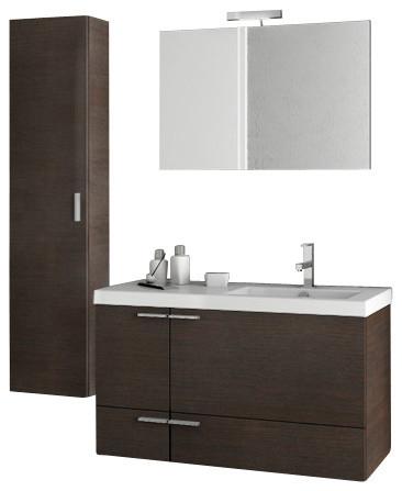 39 inch wenge bathroom vanity set contemporary bathroom vanities and sink consoles by