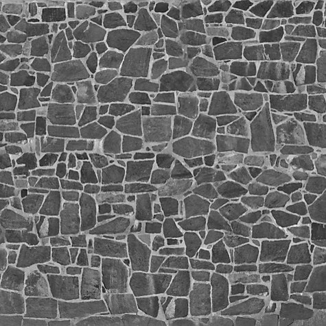 Mr perswall stones wall mural gray eclectic for John lewis bathroom wallpaper