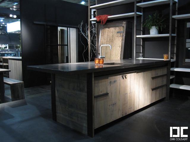 Cuisine loft industriel other metro par dirk cousaert - Cuisine loft industriel ...