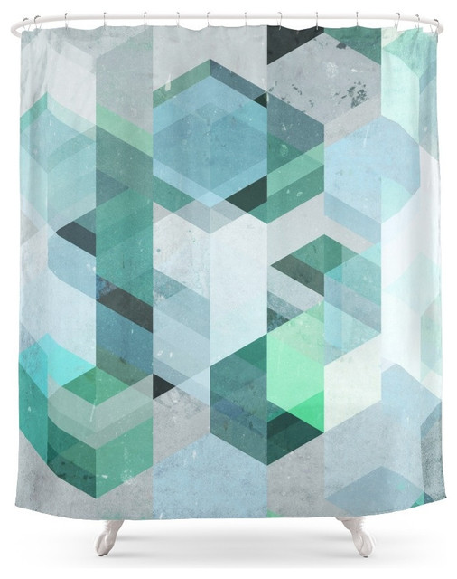 Society6 Nordic Combination 22 Shower Curtain Shower
