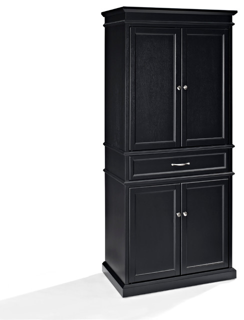 parsons pantry black pantry cabinets by crosley