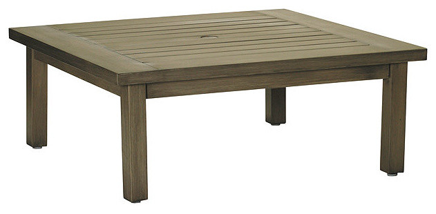 Rustic club outdoor coffee table traditional outdoor for Rustic outdoor coffee table