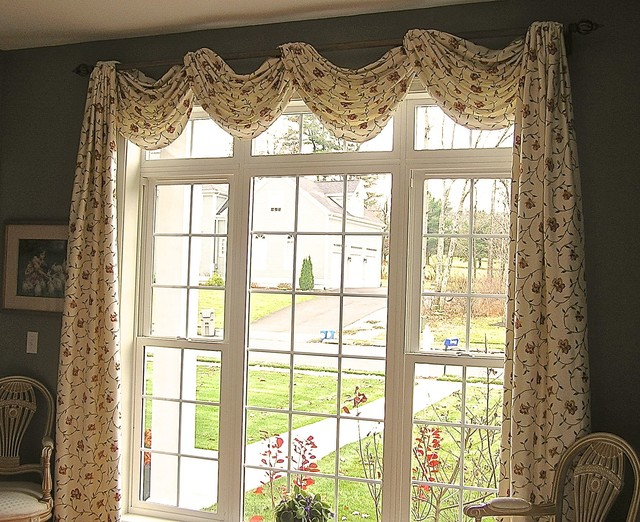 Custom window treatments for Custom window designs