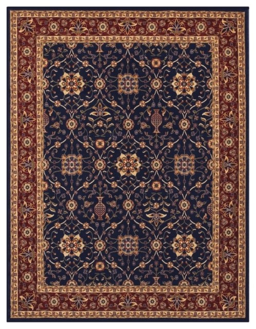 Anatolia navy red rug 28690008 traditional rugs by for Red and navy rug