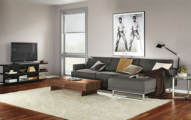 Odin Sofa With Chaise Room By R Amp B Modern Living Room