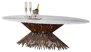 Ambella Home Collection Pick Up Sticks Dining Table Base