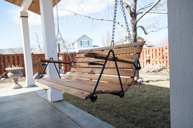 outdoor porch swing modern porch swings denver by