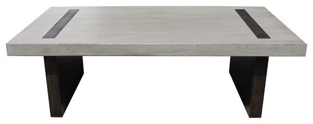 And Reclaimed Wood Edison Coffee Table Modern Coffee Tables Los