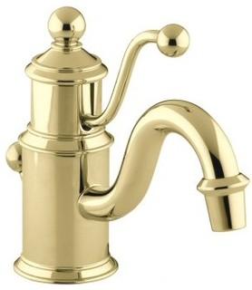 Farmhouse Sink With Faucet Holes : ... Hole Bathroom Faucet - Farmhouse - Bathroom Sink Faucets - by Faucet