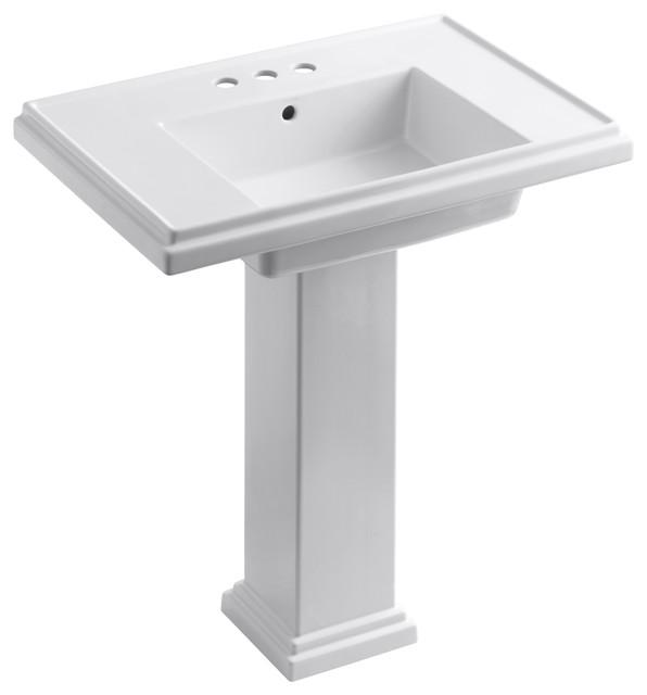 Kohler K 2845 4 0 Tresham 30 Pedestal Lavatory W 4