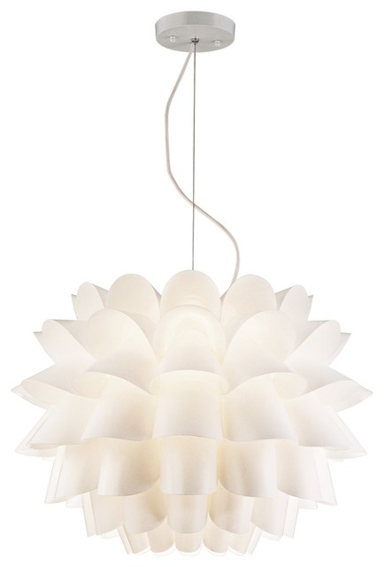 Possini euro design white flower pendant chandelier for Possini lighting website