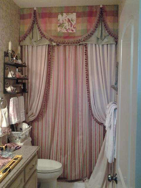 Guest Bedroom Bath Traditional Shower Curtains Houston By North Houston Blinds Llc