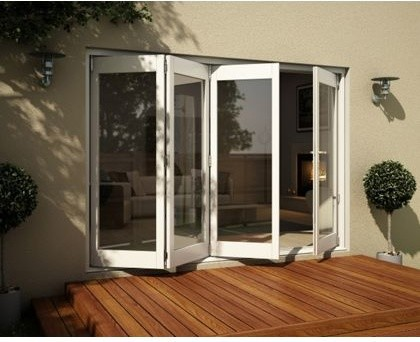 Wellington White Folding Sliding Patio Doorset 3005mm