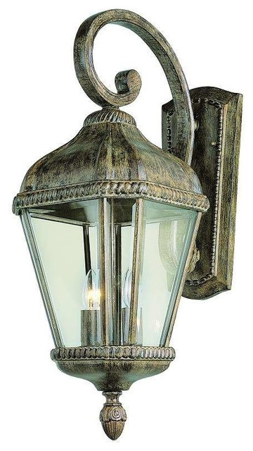 Exterior Wall Sconces Traditional : Trans Globe Lighting 5150 BRT Outdoor Wall Light In Burnished Rust - Traditional - Outdoor Wall ...