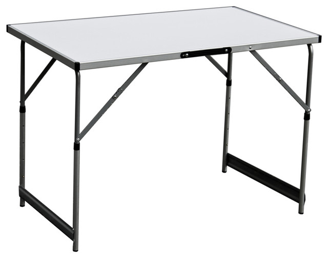 Slim jim portable picnic outdoor party adjustable height - Slim folding dining table ...