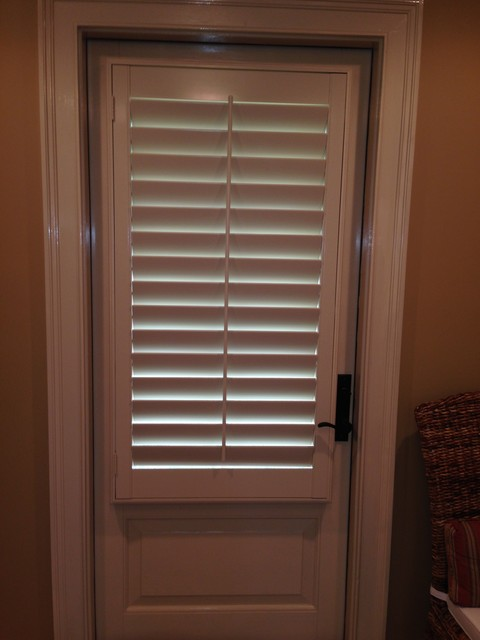 Custom Wood Interior Plantation Shutters In Tifton Georgia Traditional Interior Shutters