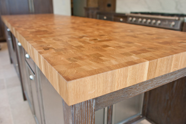 Wood Countertop - Modern - Kitchen Countertops - other metro - by Texas Stair Treads LLC