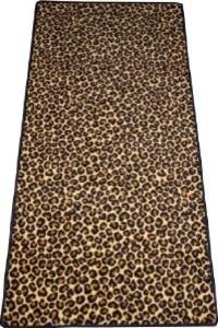 Dean leopard animal print 30 x 6 39 carpet runner rug size for Leopard print carpet stair runner