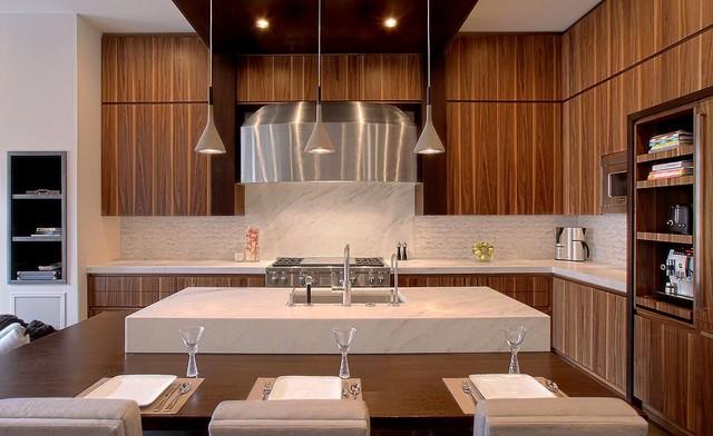 Lincoln Park Brownstone Modern Kitchen Chicago By