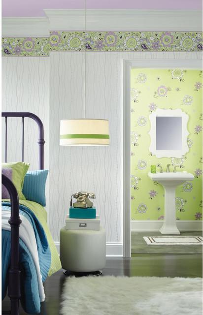 kids bedroom wallpaper modern wallpaper boston by