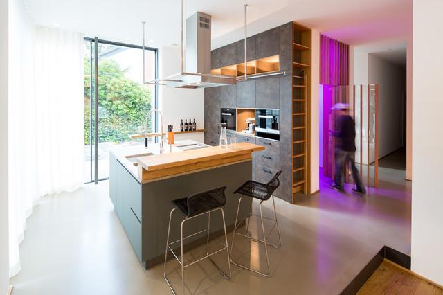 Einfamilienhaus Neubau - Modern - Küche - other metro ...