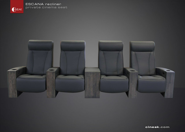 luxury home theater seat the escana bauhaus look. Black Bedroom Furniture Sets. Home Design Ideas