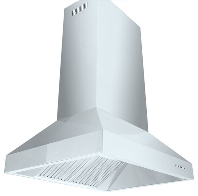 Zl697i Island Mount Range Hood 36 Chimney Extension
