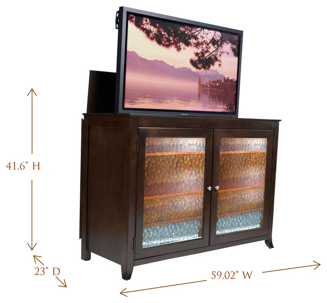 """Carmel TV Lift Cabinet For Flat Screen TV's Up To 55"""" - Contemporary ..."""