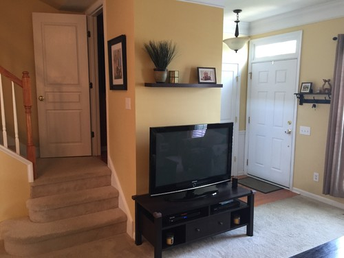 cabinet to hide flat screen tv monitor