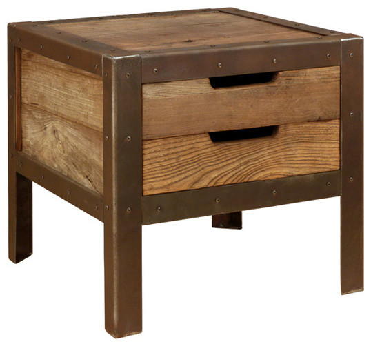 bout de canap industrial side tables end tables. Black Bedroom Furniture Sets. Home Design Ideas