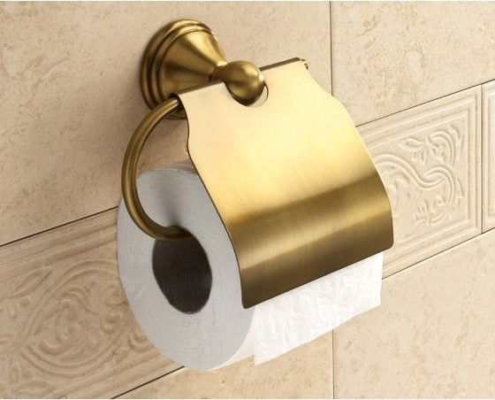 Bronze Toilet Roll Holder With Cover 7525 44 Toilet