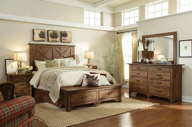 Farmhouse bedroom for 4 bedroom farmhouse