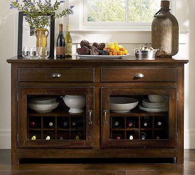 Toscana Cabinet Buffet, Tuscan Chestnut stain - Traditional - Buffets And Sideboards - by ...