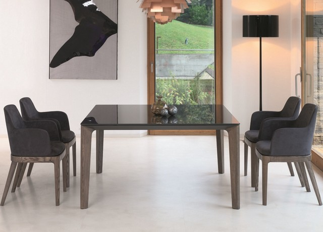 Bontempi Versus Dining Table Contemporary Dining Tables London By Go Modern Furniture