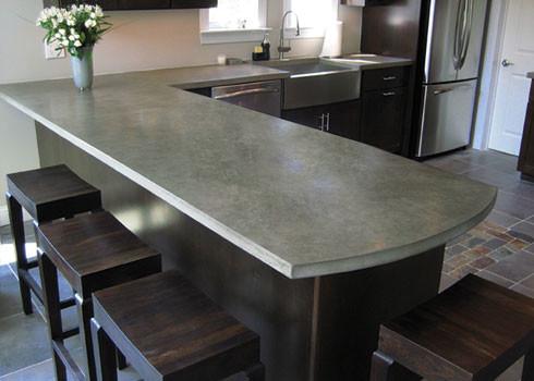 concrete countertops cost vs granite | granitedesign