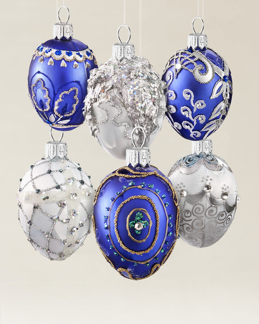 Christmas Ornaments Online Shopping Europe: European Glass Ornaments - Traditional