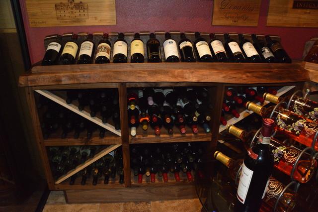 Walk In Wine Cellar Contemporary San Diego By