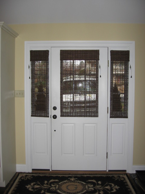 Glass door solution window treatments philadelphia