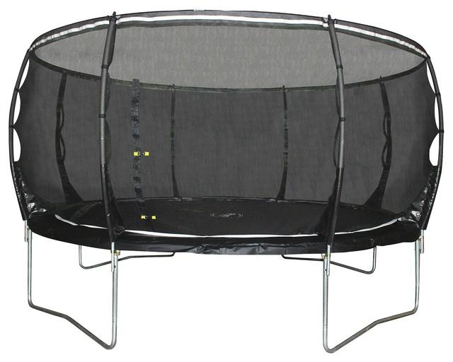 plum 12ft magnitude trampoline enclosure contemporary. Black Bedroom Furniture Sets. Home Design Ideas